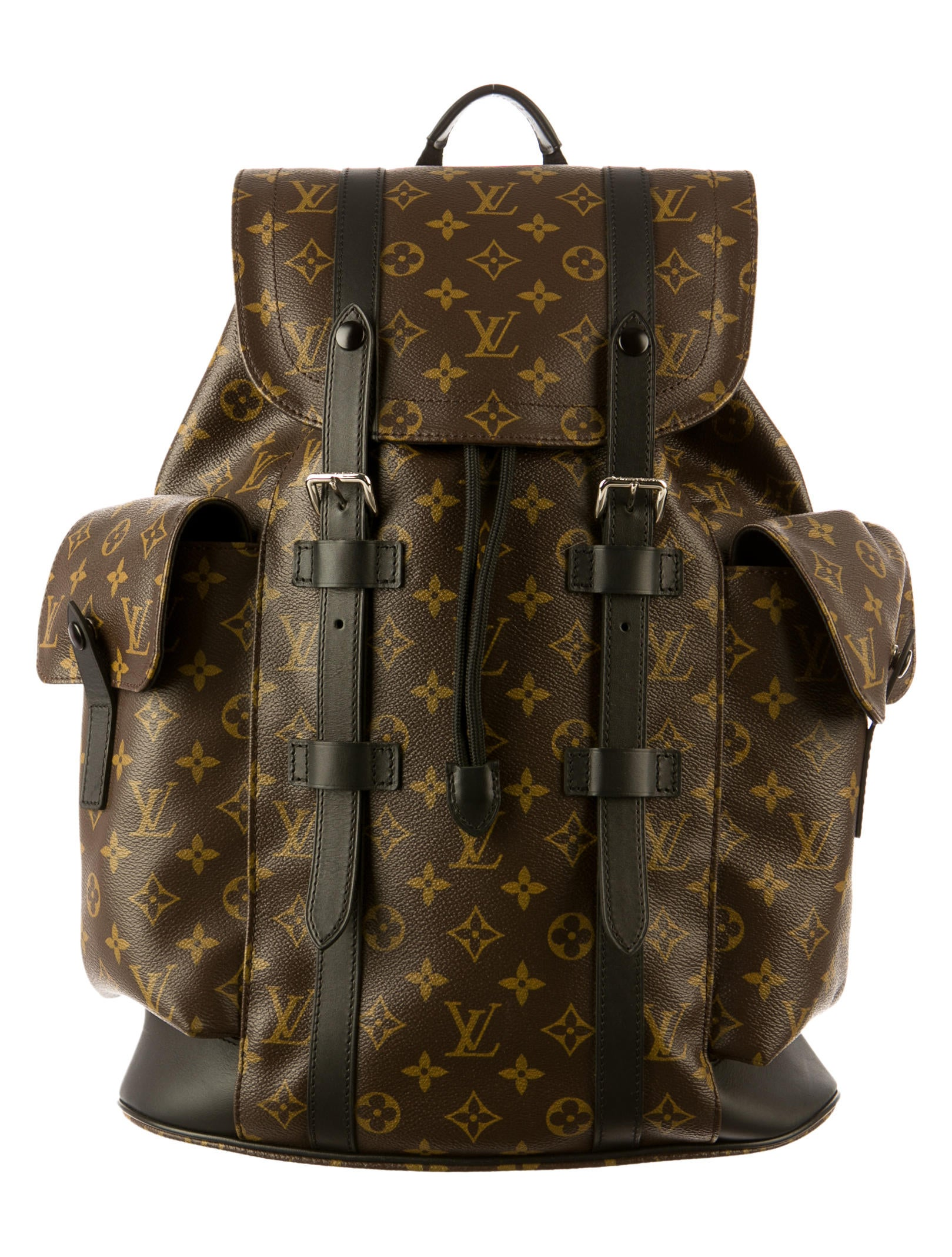 louis vuitton christopher pm backpack bags lou41115 the realreal. Black Bedroom Furniture Sets. Home Design Ideas