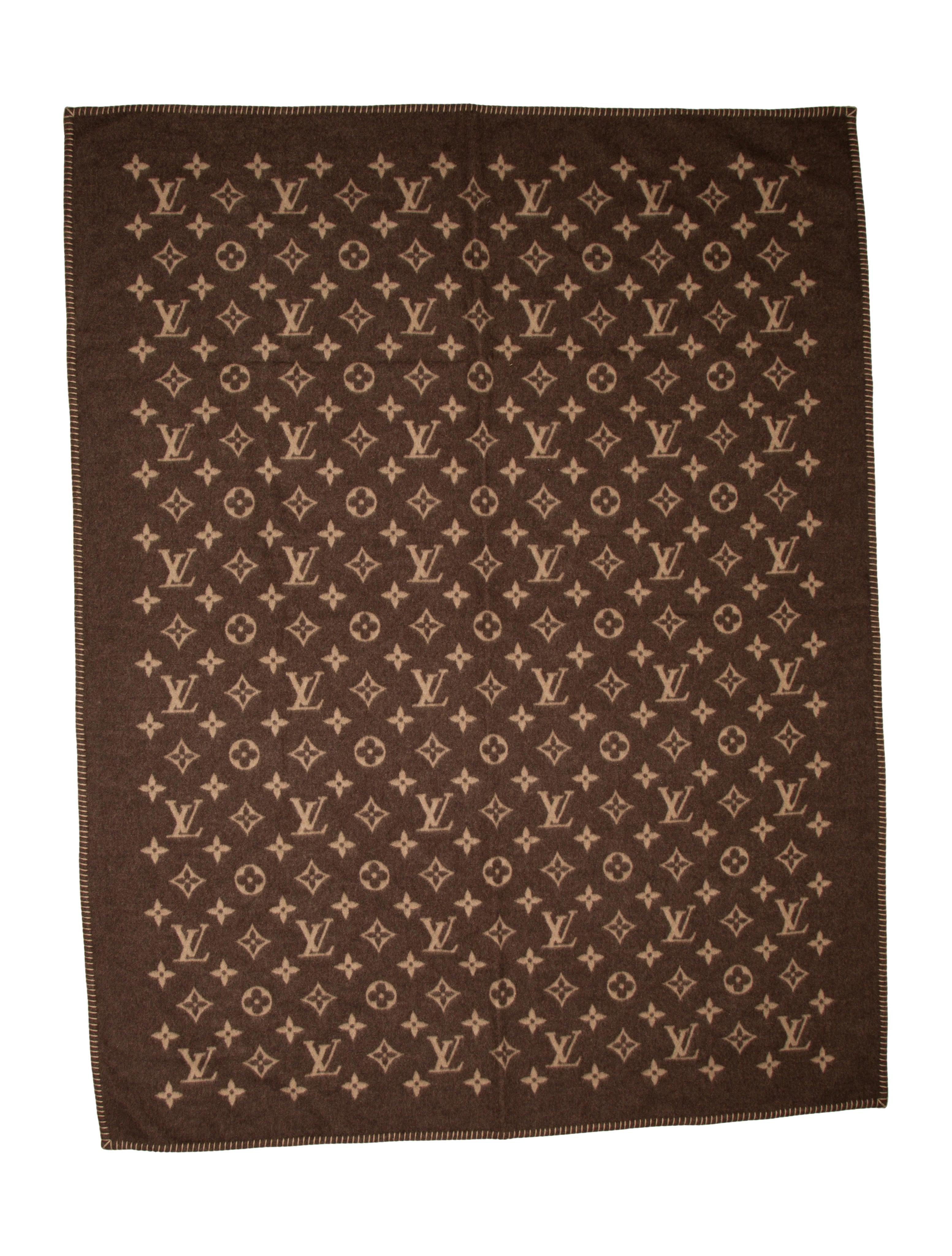 1c1a30cd883 Louis Vuitton Monogram Blanket - Pillows   Throws - LOU41864