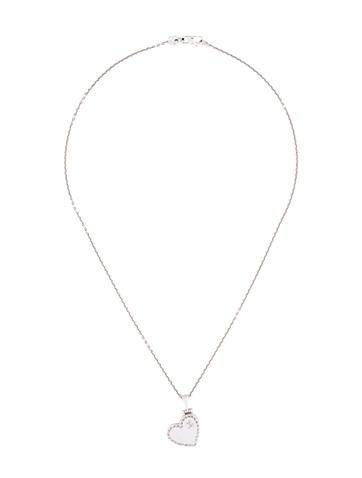 18K Heart Locket Necklace