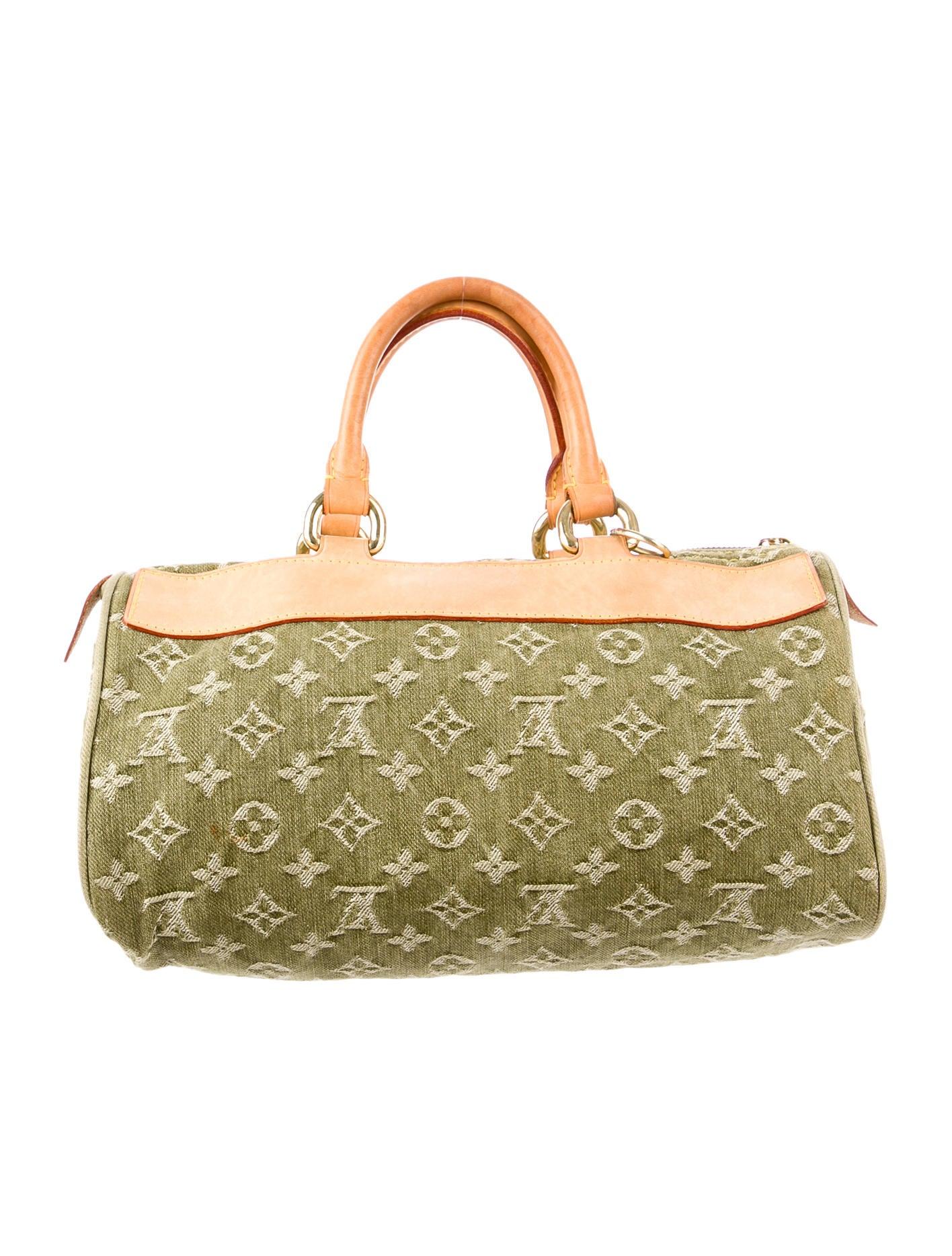 Louis Vuitton Denim Neo Speedy Bag - Handbags - LOU42460 | The RealReal