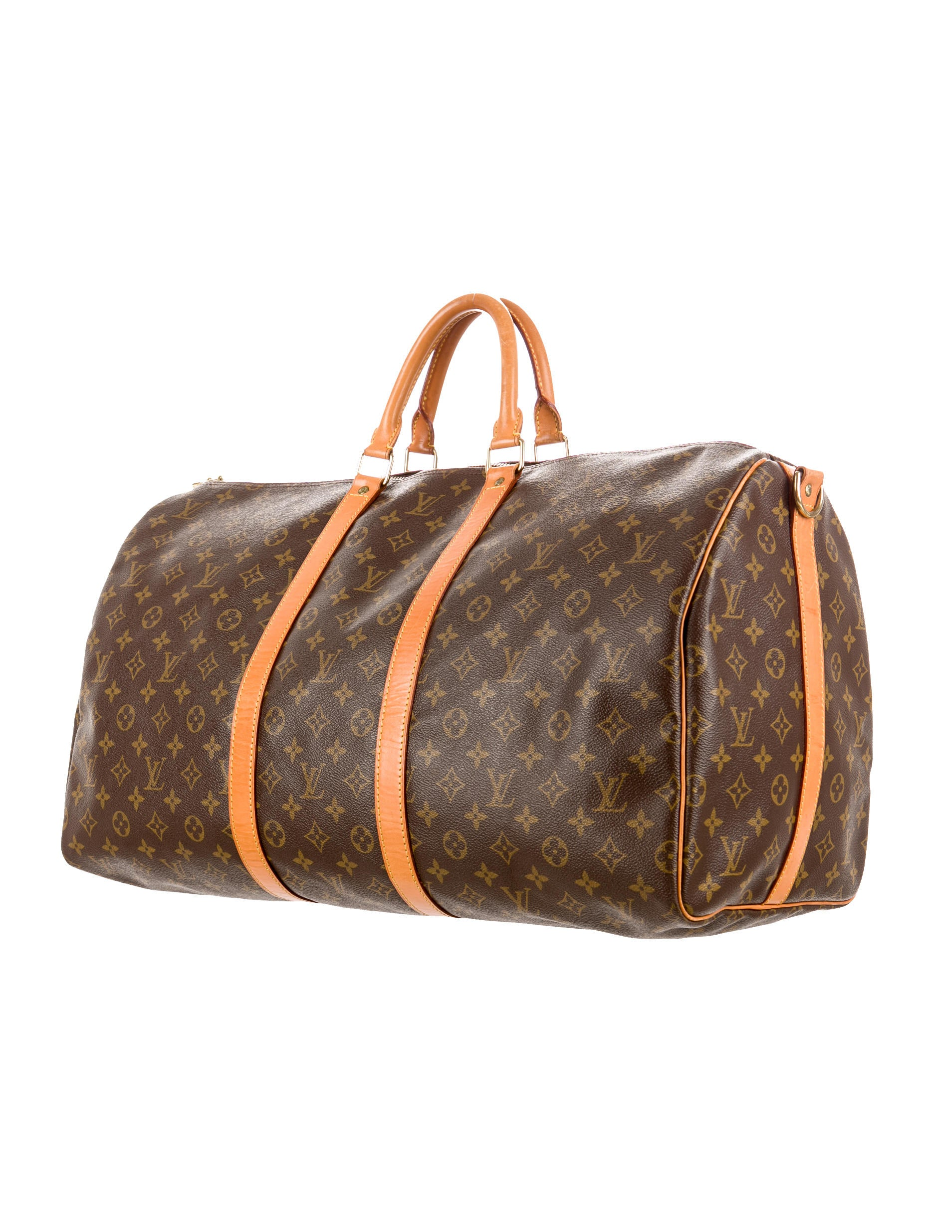 louis vuitton keepall bandouliere 55 luggage lou43215. Black Bedroom Furniture Sets. Home Design Ideas