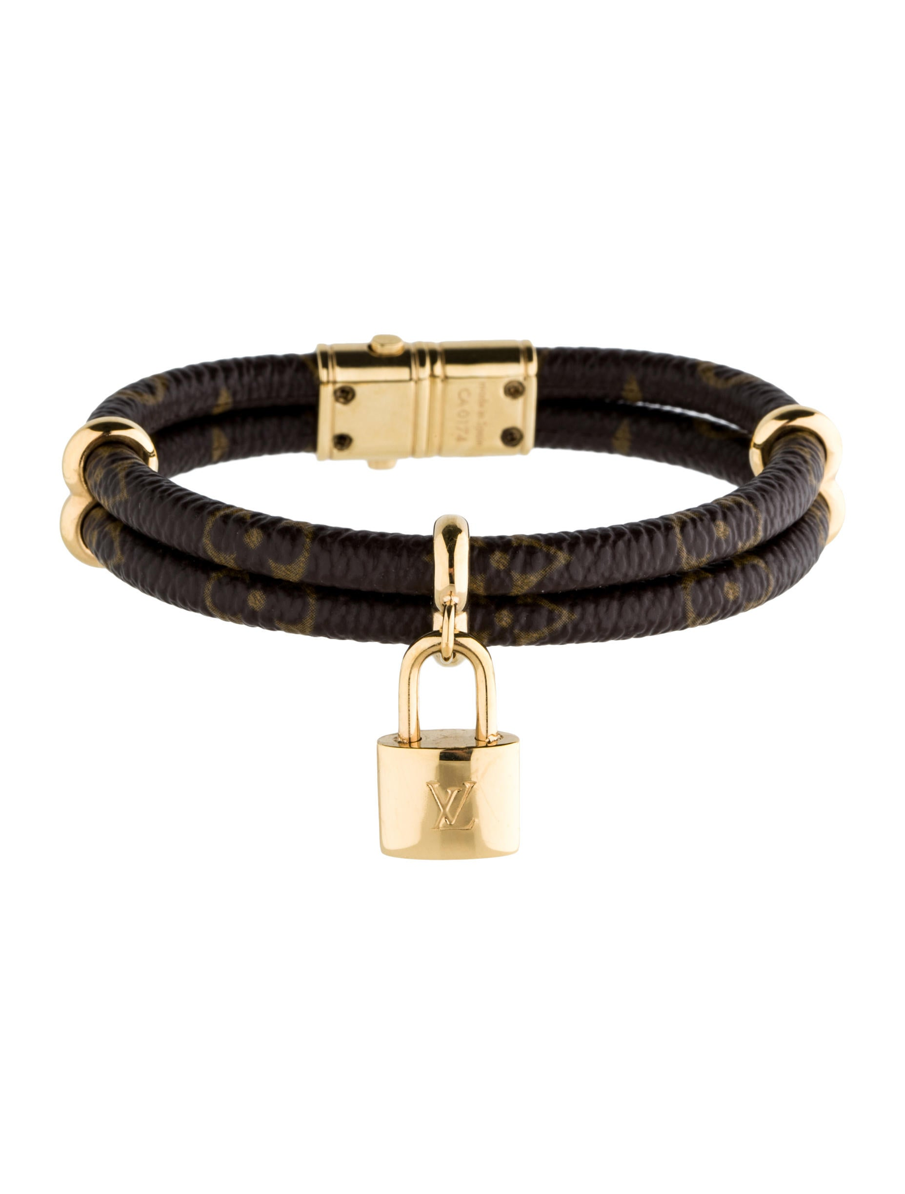 Louis Vuitton Keep It Twice Monogram Bracelet Bracelets Lou43398 The Realreal