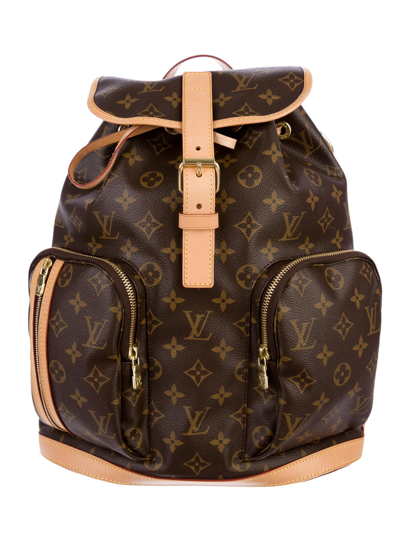 louis vuitton bosphore backpack bags lou43455 the realreal. Black Bedroom Furniture Sets. Home Design Ideas