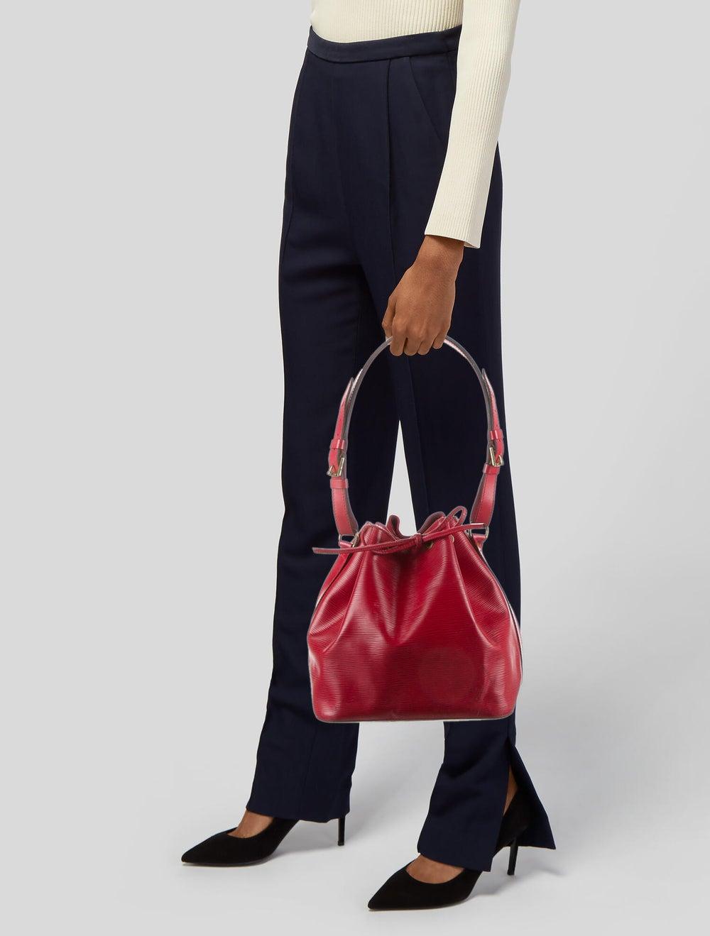 Louis Vuitton Vintage Epi Petit Noe Red - image 2