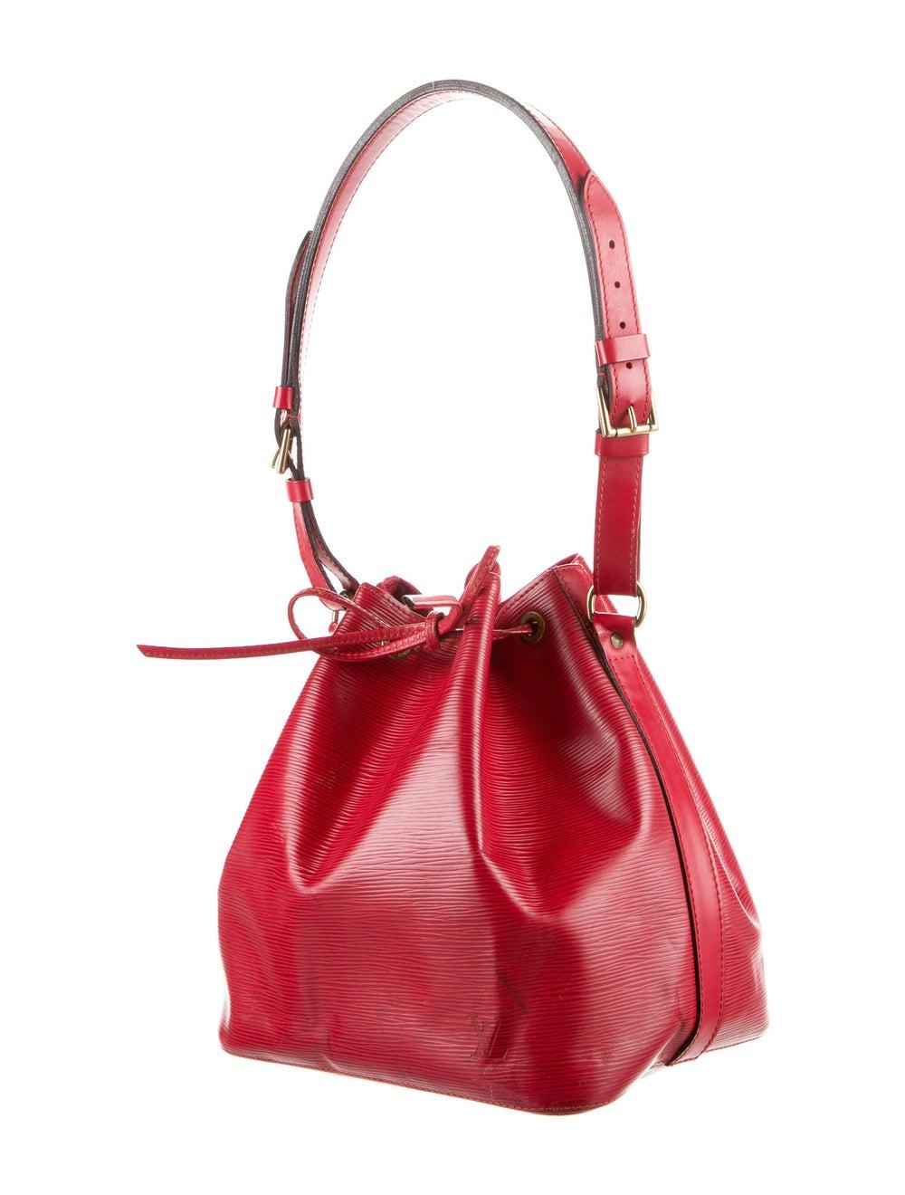 Louis Vuitton Vintage Epi Petit Noe Red - image 3