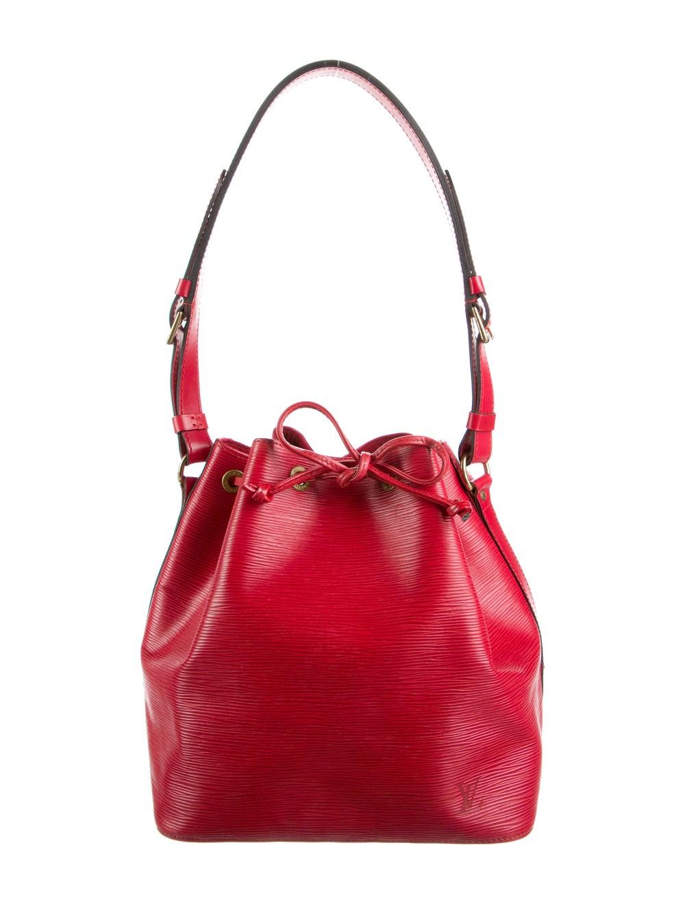Louis Vuitton Epi Petit Noé Red - image 1