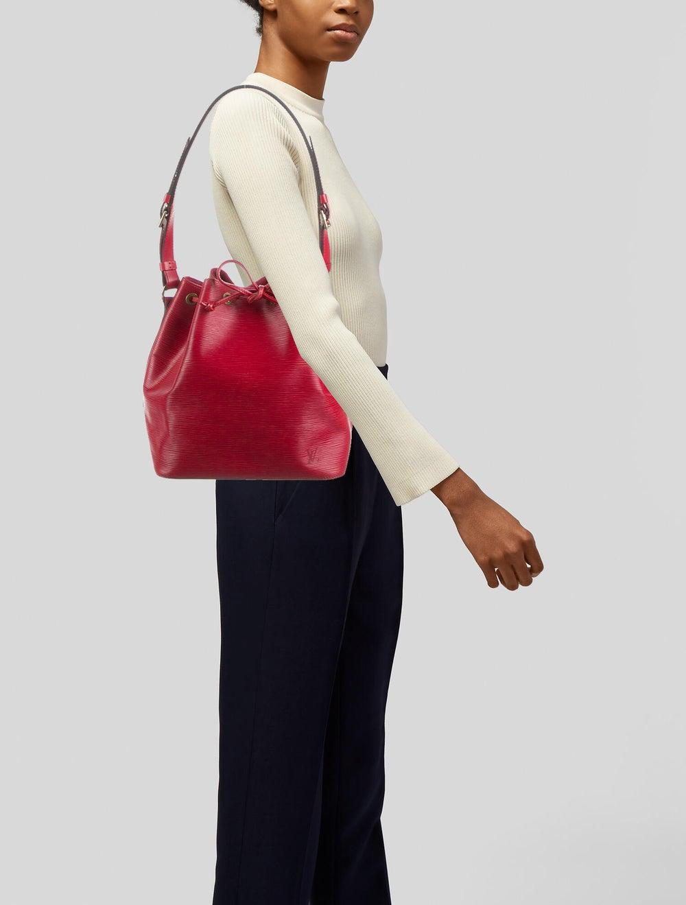 Louis Vuitton Epi Petit Noé Red - image 2