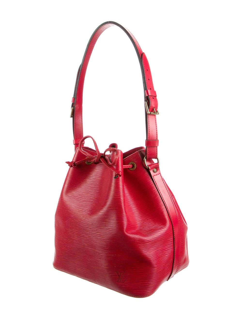Louis Vuitton Epi Petit Noé Red - image 3