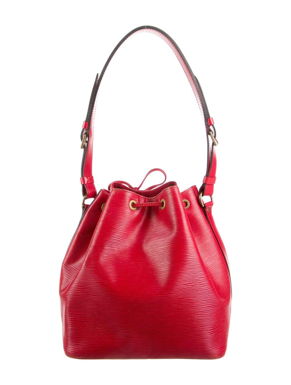 Louis Vuitton Epi Petit Noé Red - image 4