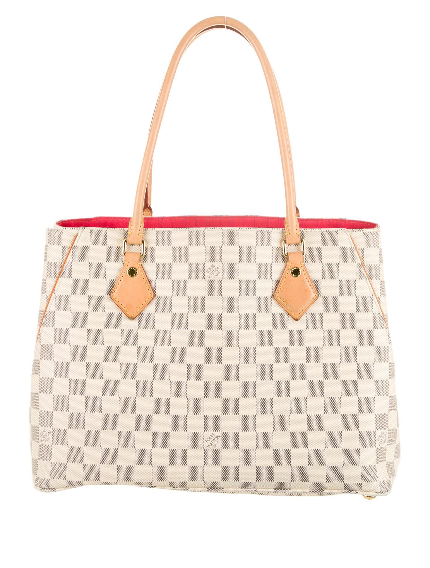 7ae2818b267a Louis Vuitton Damier Azur Calvi Tote - Handbags - LOU44217