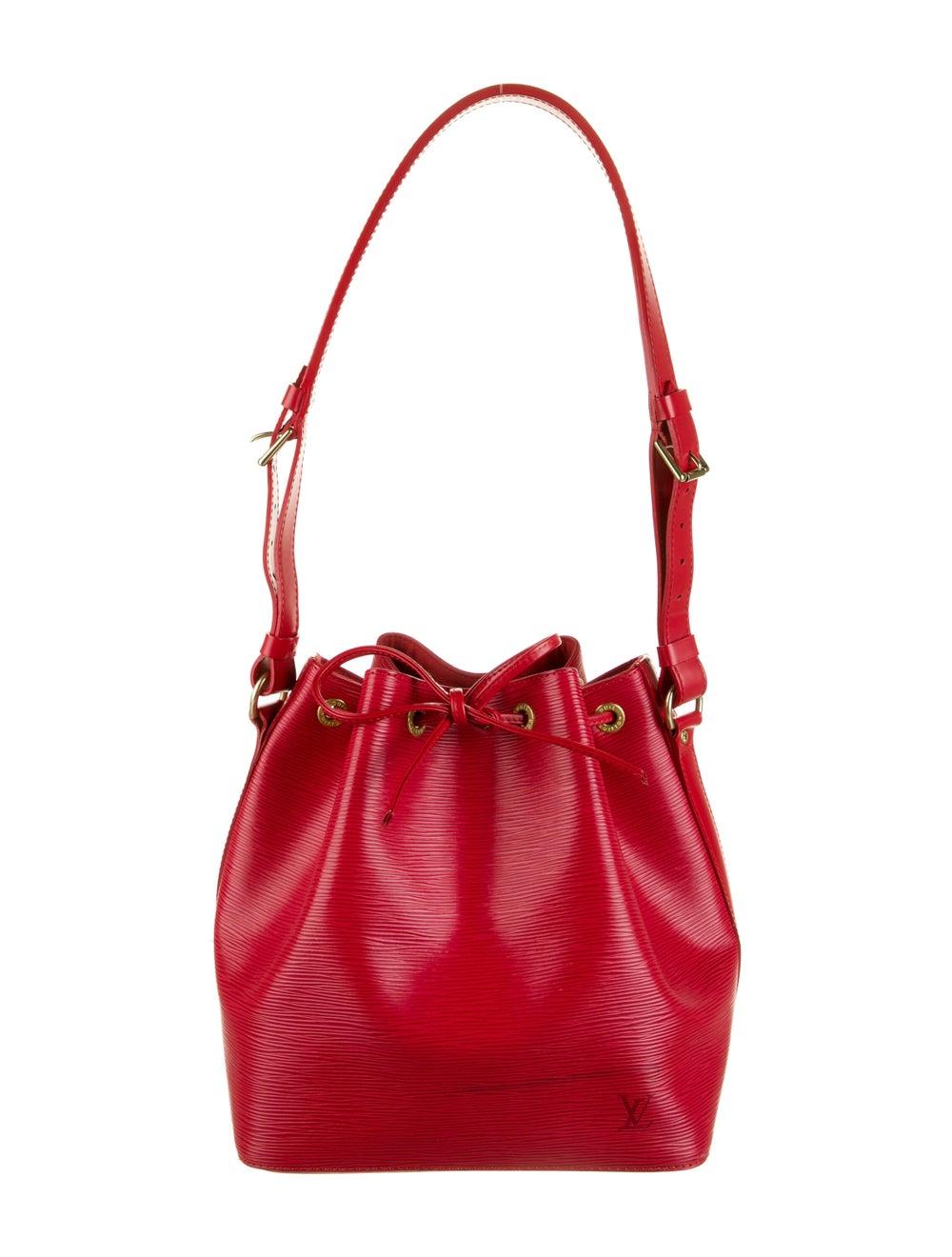 Louis Vuitton Vintage Epi Petit Noé Red - image 1