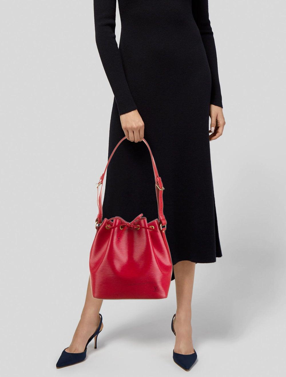 Louis Vuitton Vintage Epi Petit Noé Red - image 2