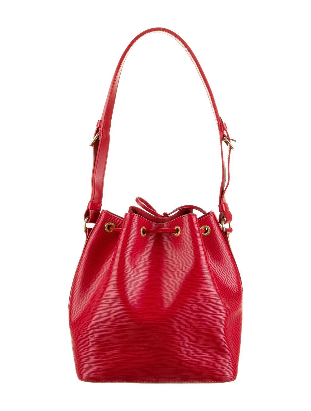 Louis Vuitton Vintage Epi Petit Noé Red - image 4