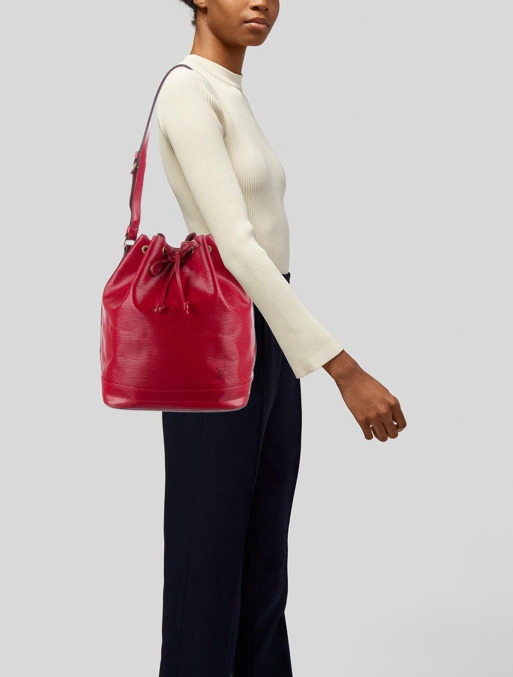 Louis Vuitton Vintage Epi Noé Red - image 2