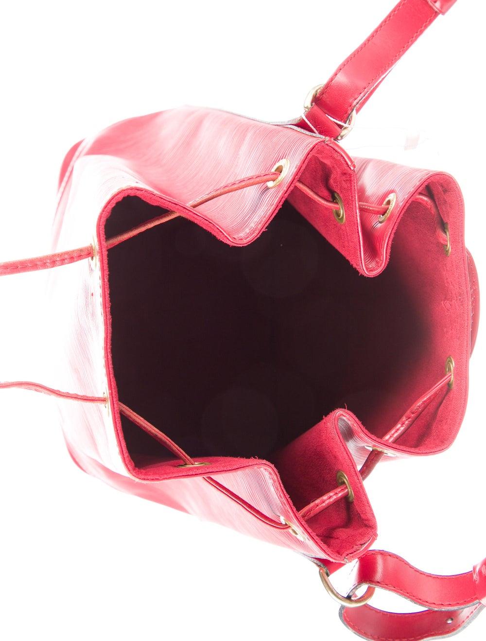 Louis Vuitton Vintage Epi Noé Red - image 5