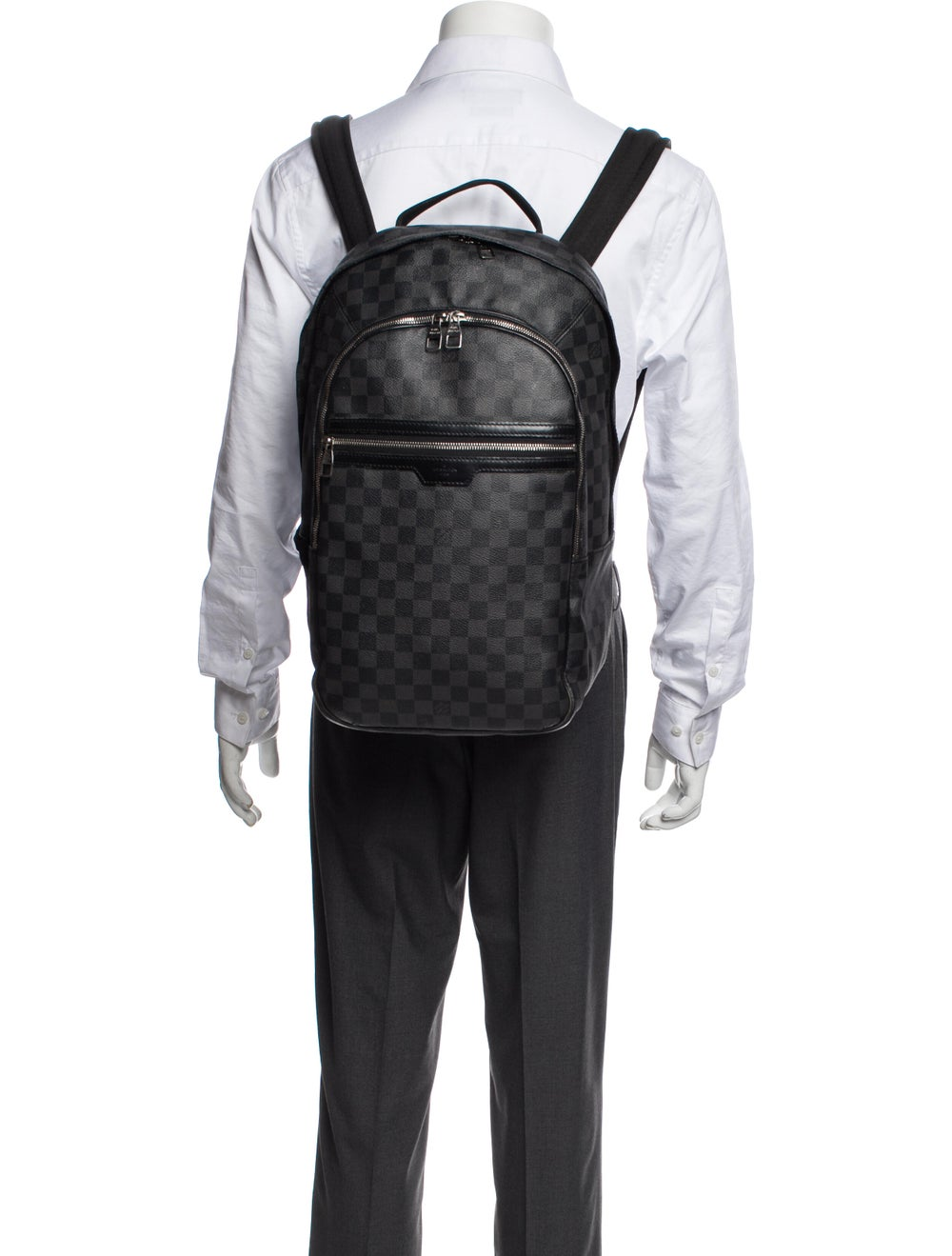 Louis Vuitton Damier Graphite Michael Backpack Gr… - image 3
