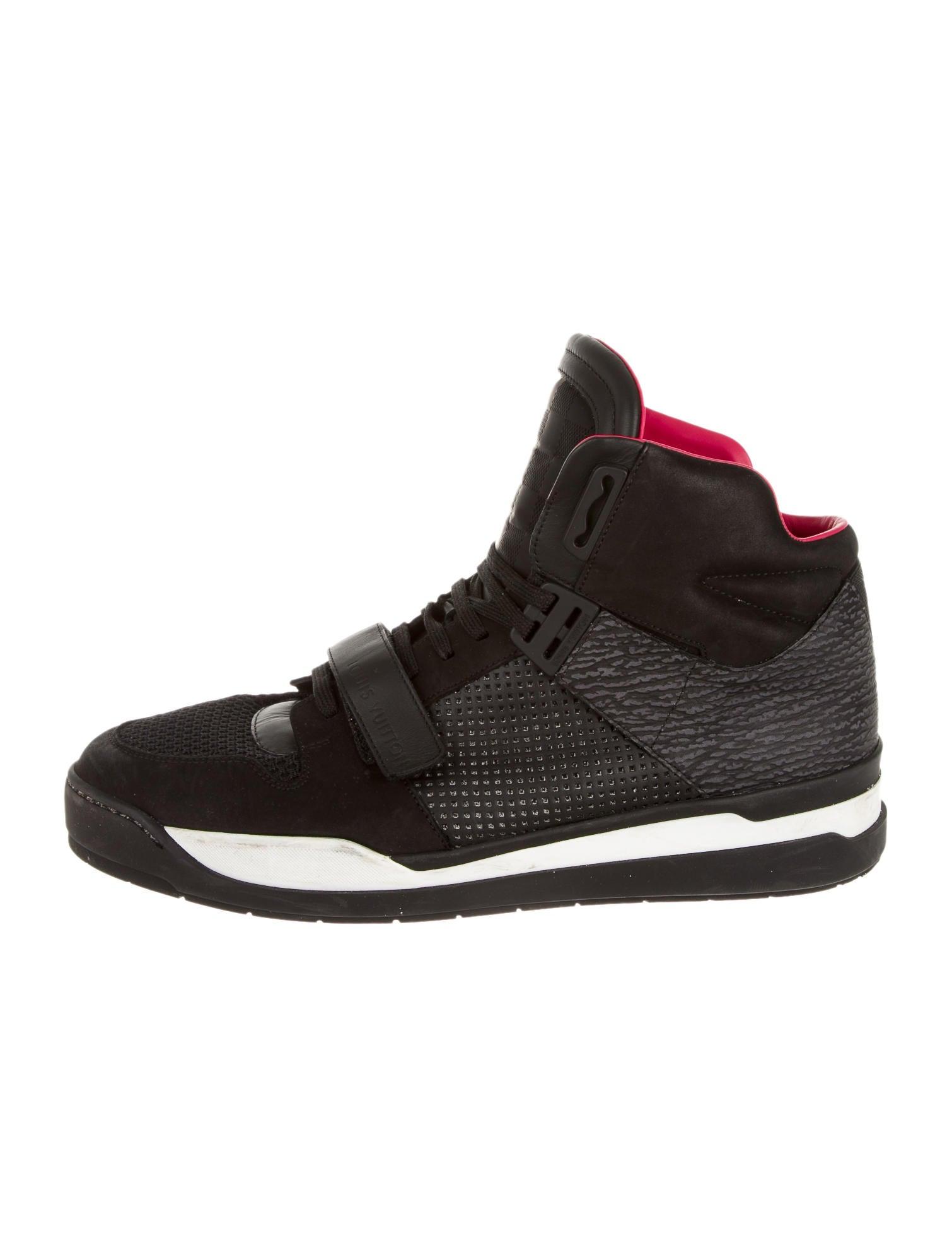 a848aad285b5 Louis Vuitton Trailblazer High-Top Sneakers - Shoes - LOU45332