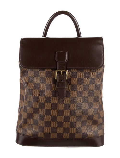 Louis Vuitton Vintage Damier Ebene Soho Backpack B