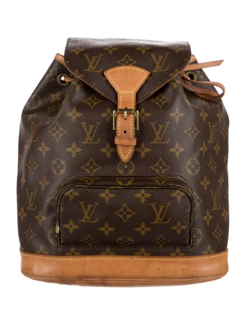 Louis Vuitton Monogram Montsouris MM Brown