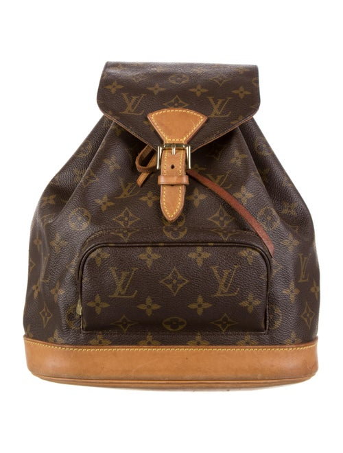 Louis Vuitton Monogram Montsouris PM Brown
