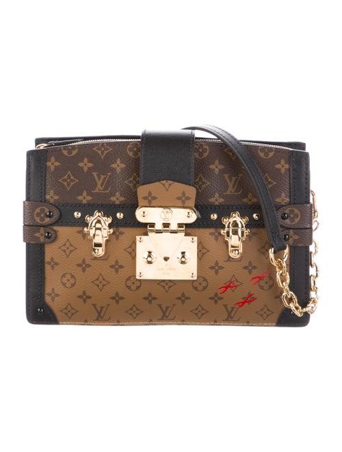 Louis Vuitton Reverse Monogram Trunk Clutch Brown