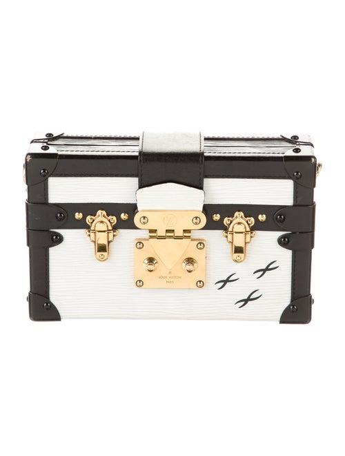 Louis Vuitton Epi Petit Malle White