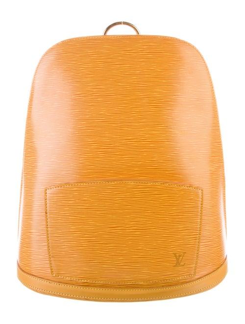 Louis Vuitton Vintage Epi Gobelins Backpack Yellow