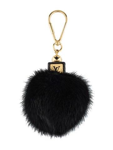 Fluffy Bag Charm