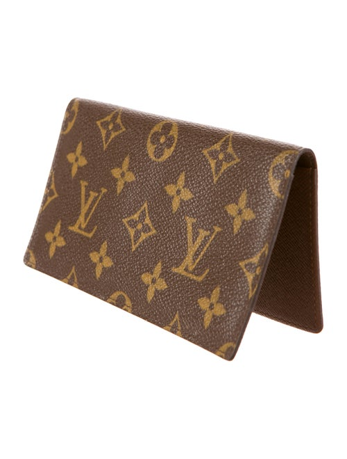 3129ec8dc63b Louis Vuitton Monogram Simple Checkbook Cover - Accessories ...