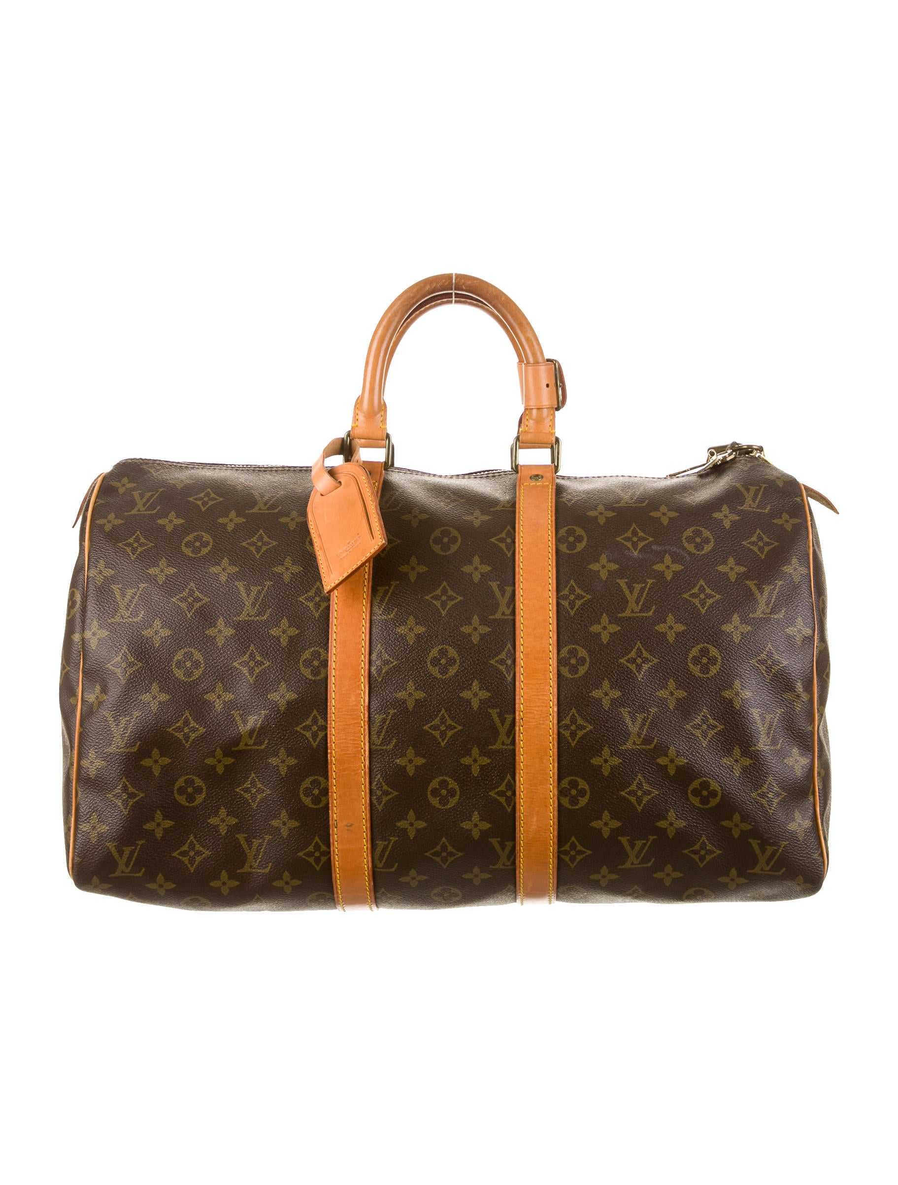 louis vuitton keepall 45 luggage lou50333 the realreal. Black Bedroom Furniture Sets. Home Design Ideas