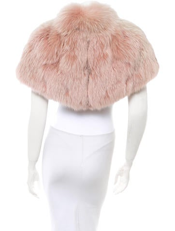 Fox Fur Capelet w/ Tags