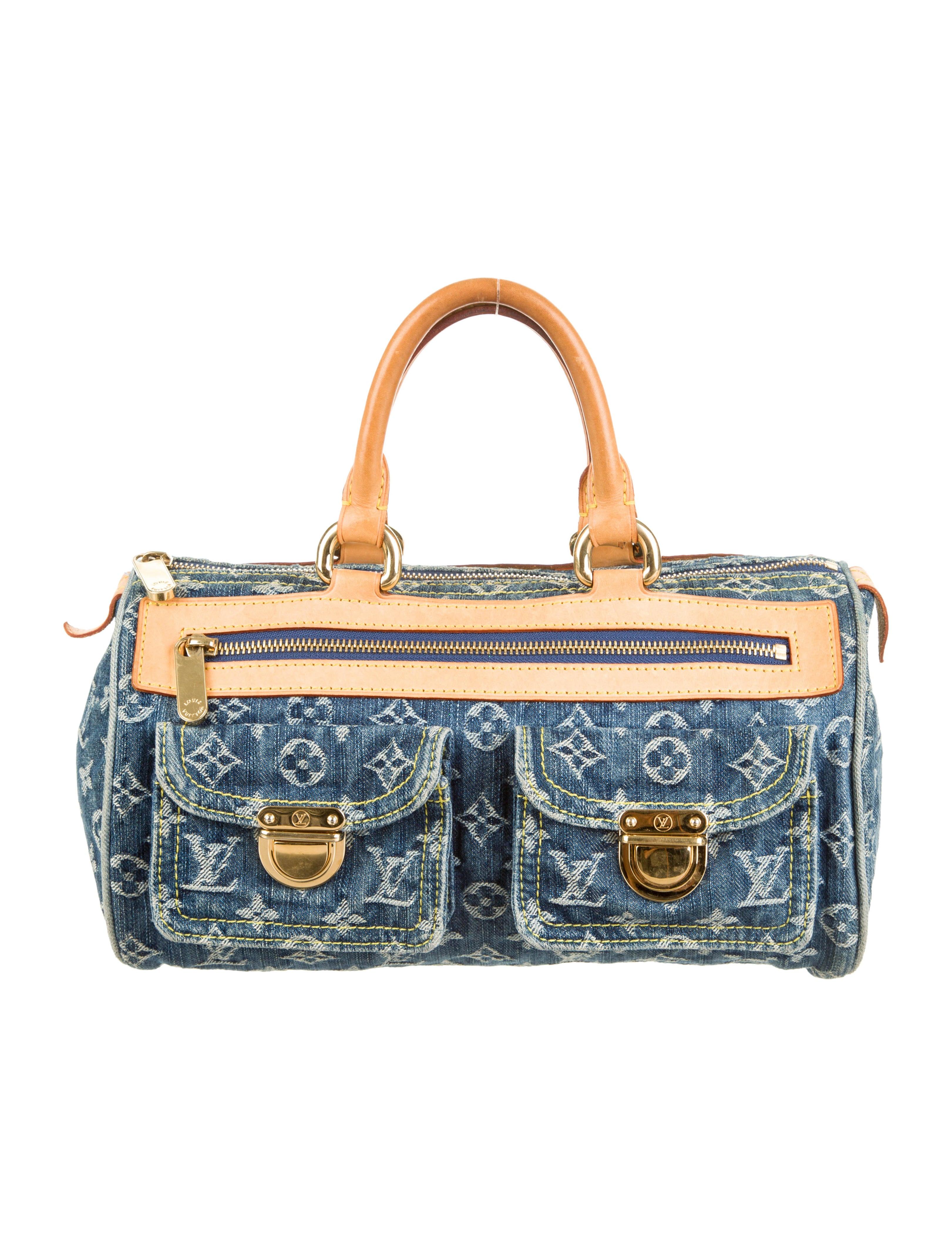 Louis Vuitton Denim Neo Speedy Bag - Handbags - LOU53961 | The RealReal