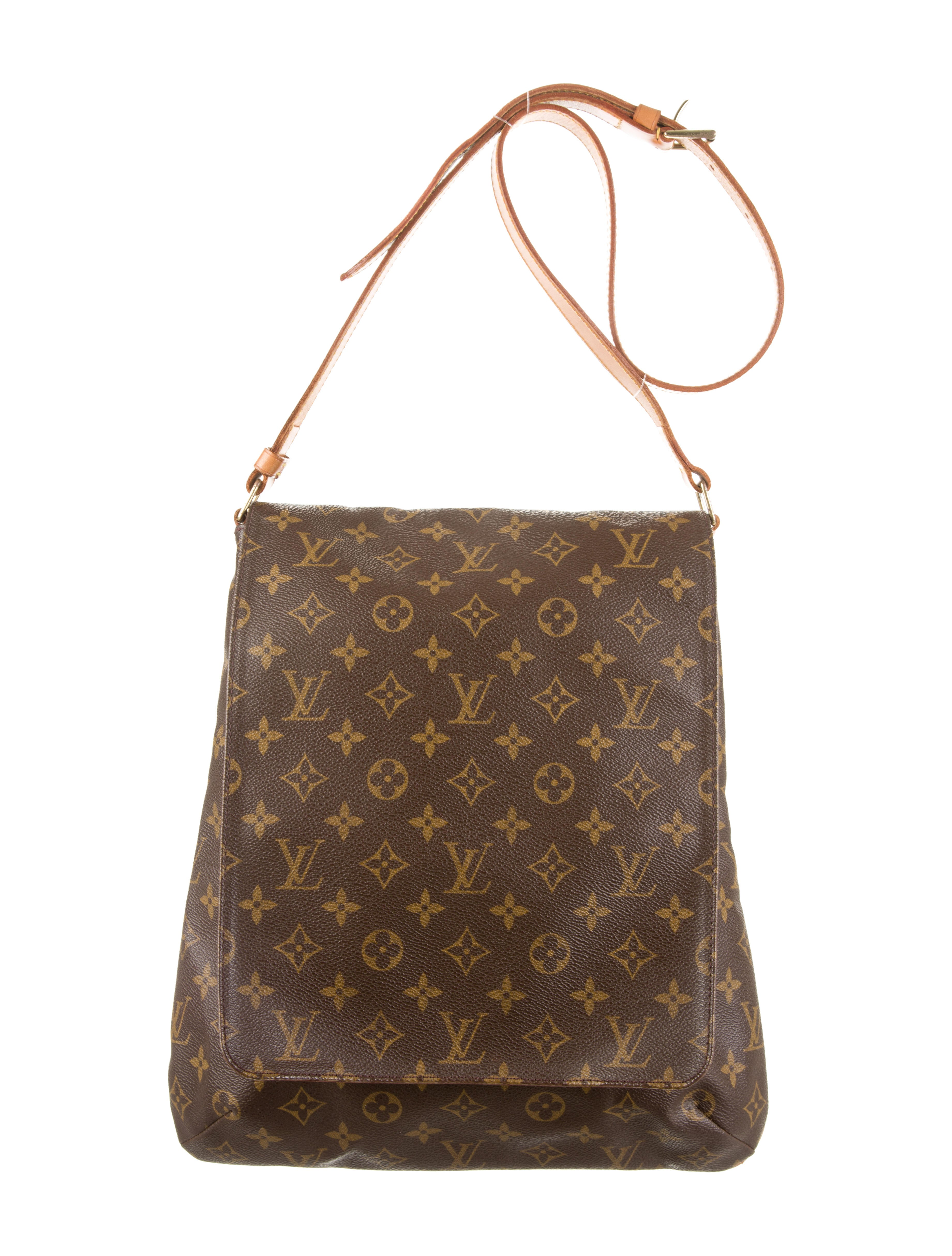 louis vuitton musette salsa bag handbags lou55821 the realreal. Black Bedroom Furniture Sets. Home Design Ideas