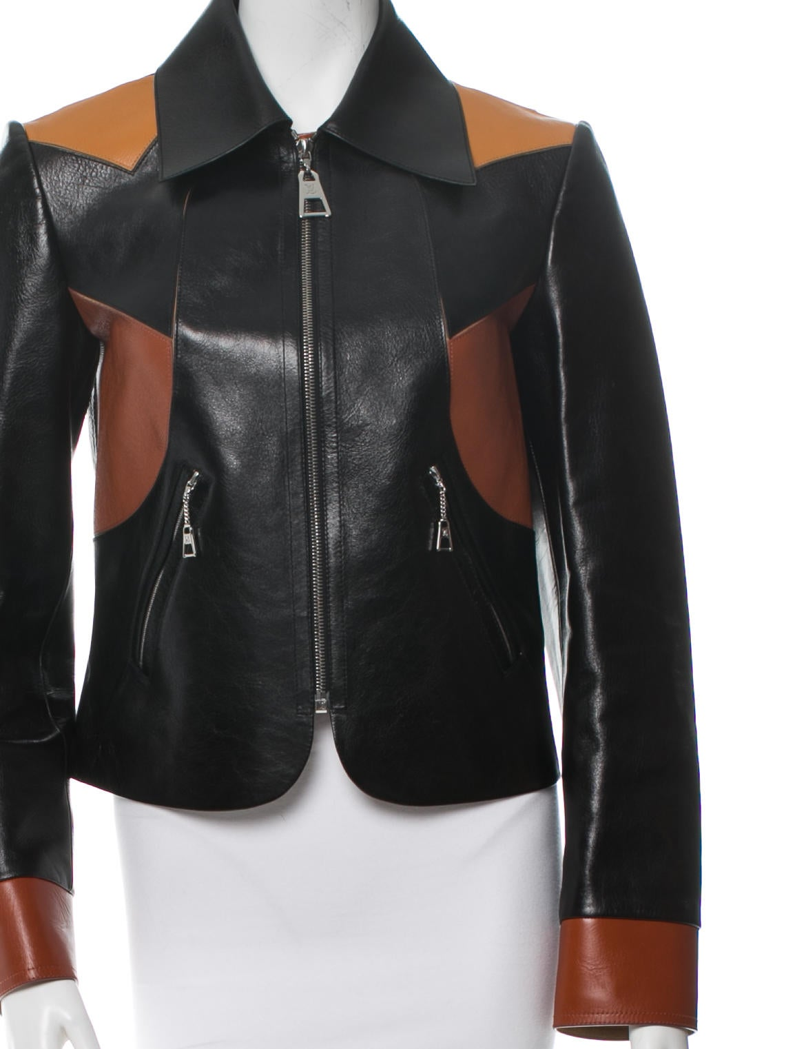 Louis vuitton leather jacket