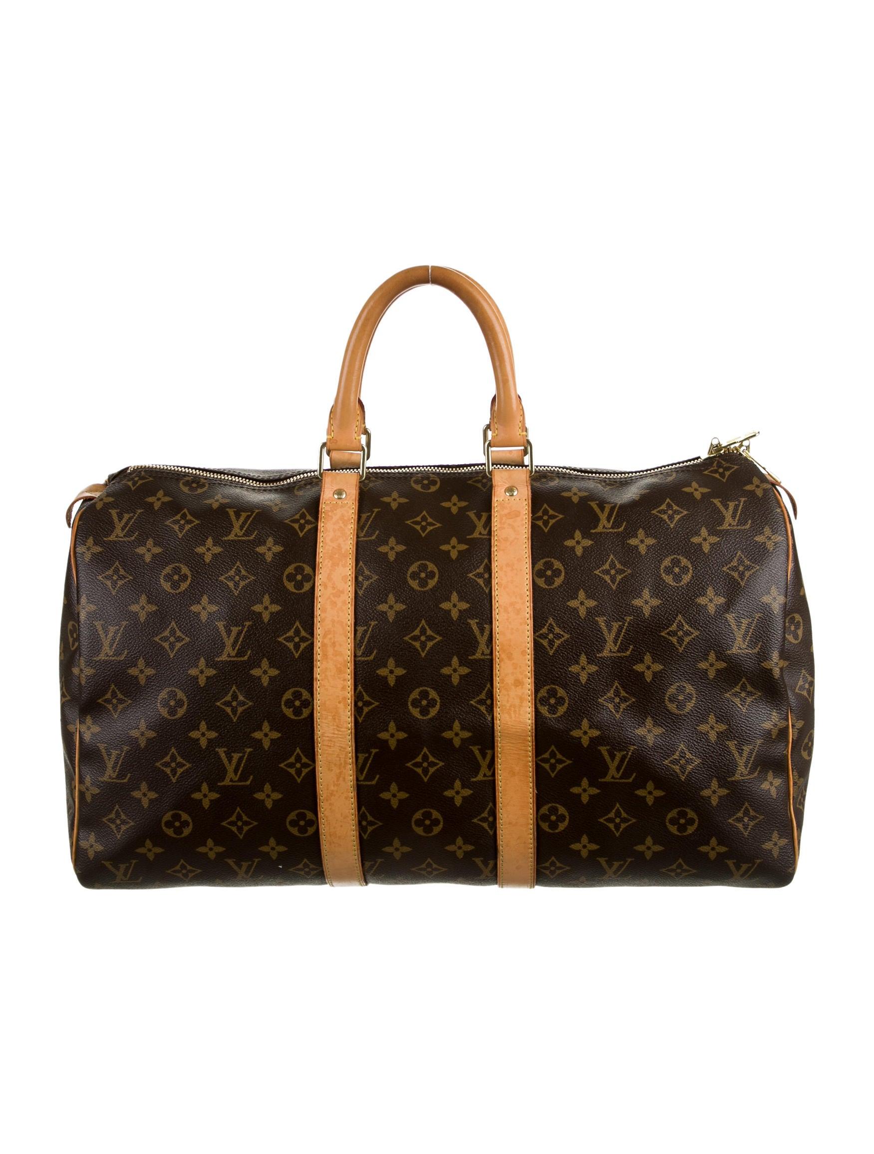 Louis Vuitton Keepall 45 - Handbags - LOU59662 | The RealReal