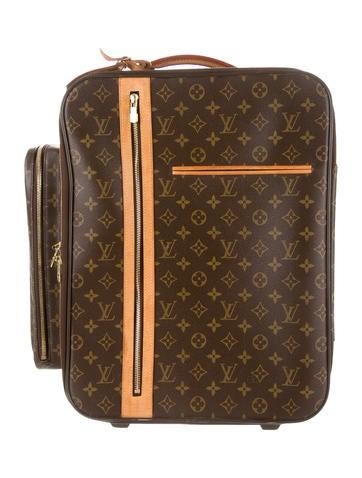 louis vuitton monogram bosphore trolley 50 handbags lou60192 the realreal. Black Bedroom Furniture Sets. Home Design Ideas