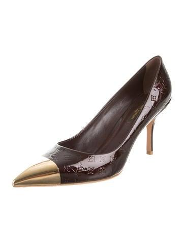 43287236a97a Louis Vuitton Vernis Pointed-Toe Pumps - Shoes - LOU60569