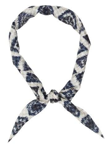 Louis Vuitton Ikat Silk Scarf None