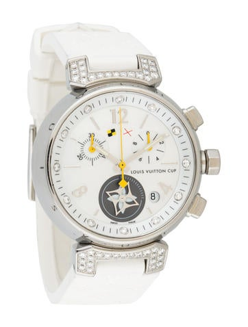 Louis Vuitton Tambour Lovely Cup Diamond Watch None