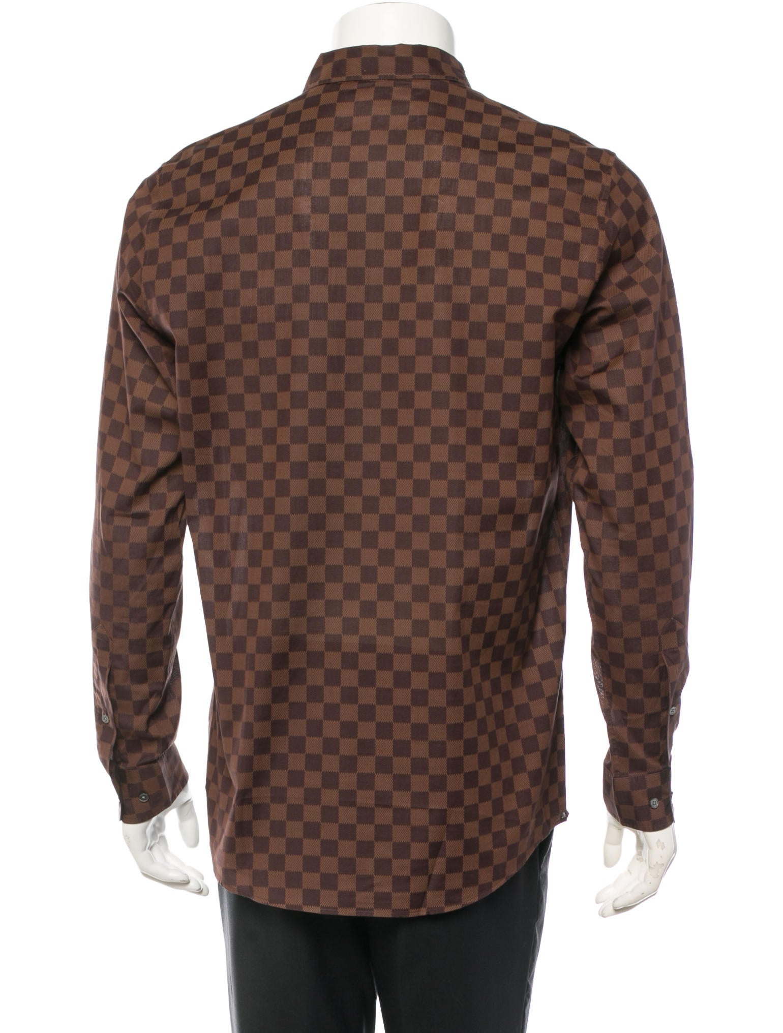 Louis Vuitton Mens Damier Shirt 58