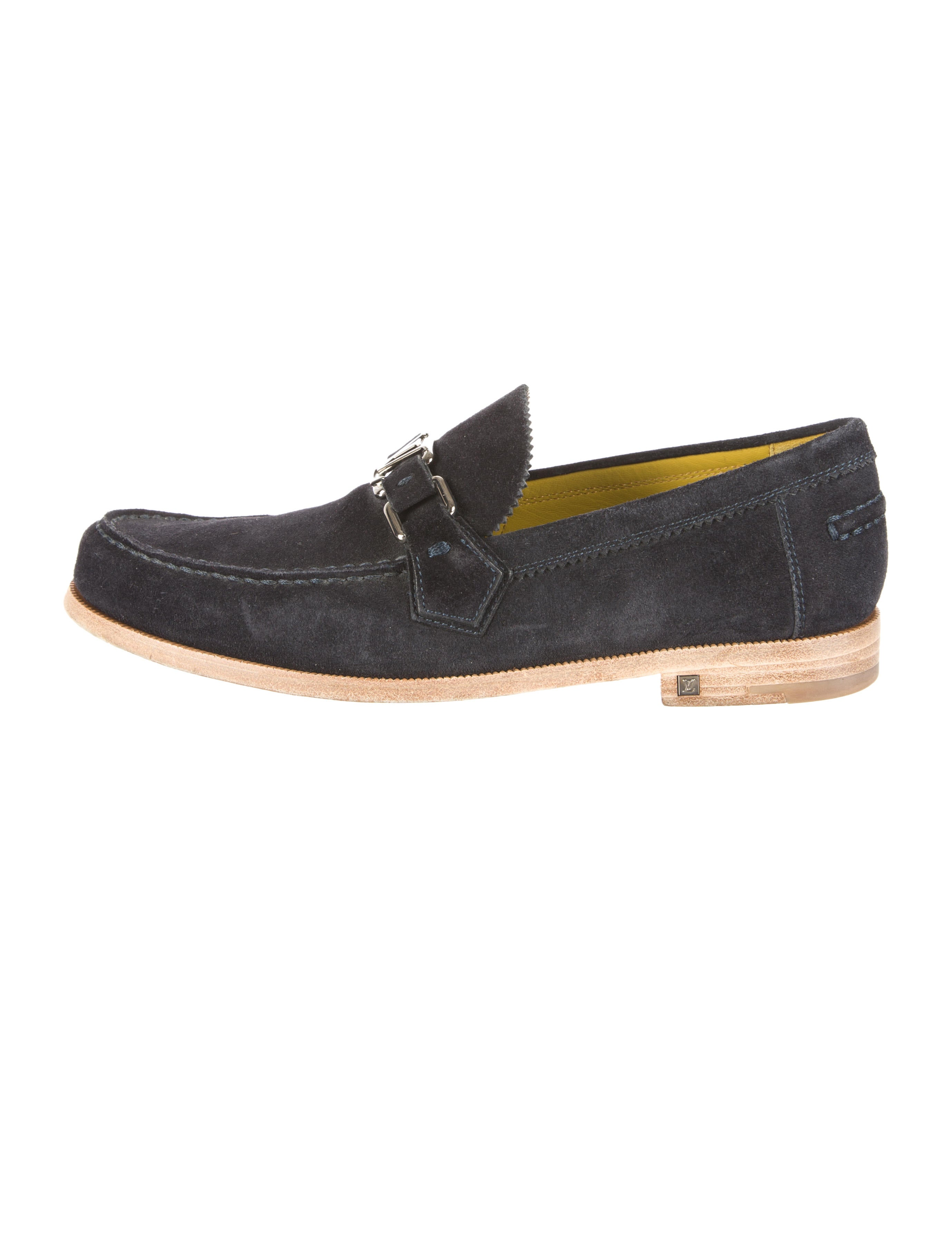Louis Vuitton Suede Major Loafers - Shoes - LOU65628 | The RealReal