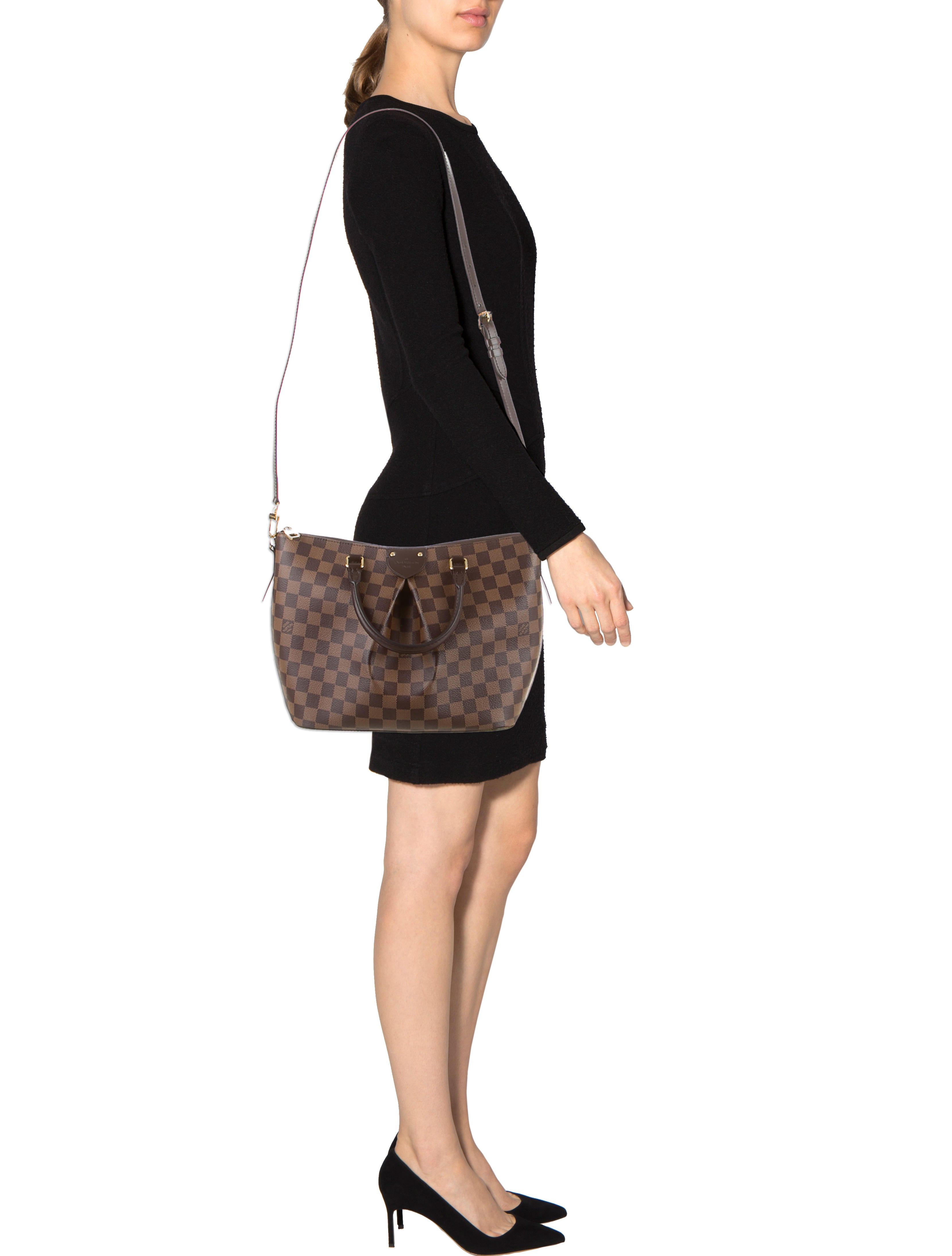 Louis Vuitton Damier Siena MM Handbags LOU67772 The  : LOU677722enlarged from www.therealreal.com size 3316 x 4376 jpeg 364kB