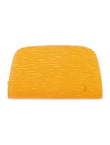 Epi Dauphine Cosmetic Bag
