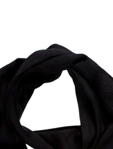 Silk Jacquard Scarf