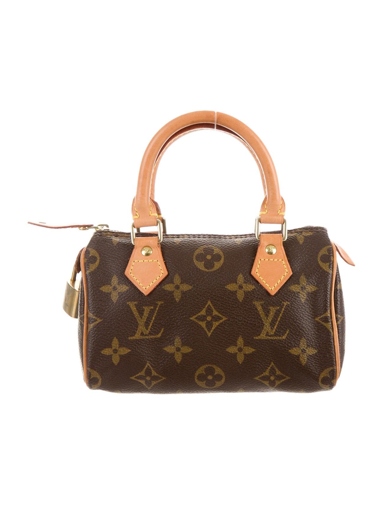 3226c6a57 Louis Vuitton Mini HL Speedy Bag - Handbags - LOU69297 | The RealReal