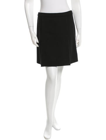 Louis Vuitton Wool Mini Skirt