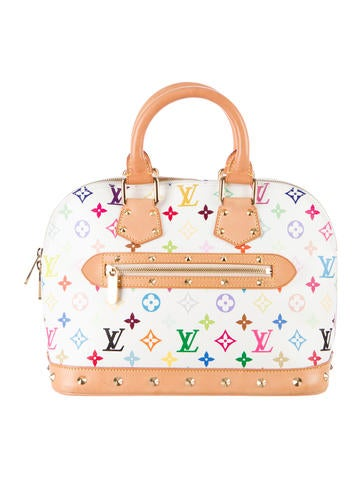 Louis Vuitton Multicolore Alma None