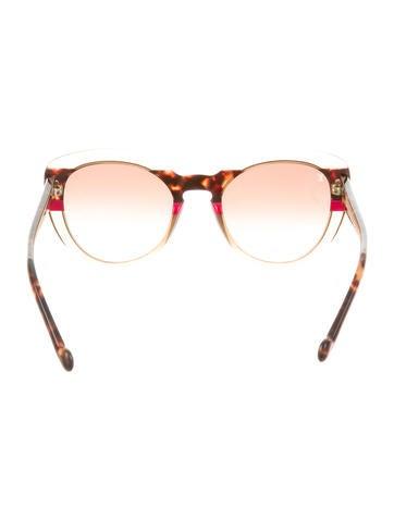 Peony Cat-Eye Sunglasses