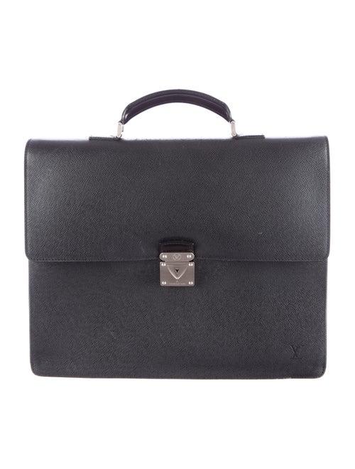 Louis Vuitton Taiga Robusto Briefcase black