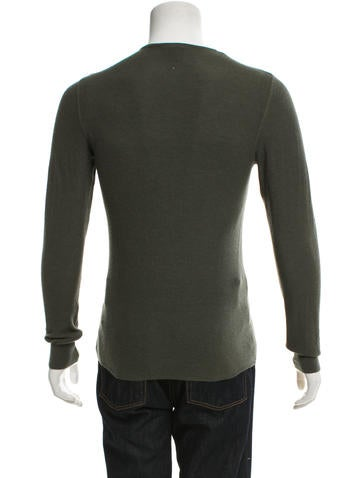 louis vuitton cashmere pullover henley clothing. Black Bedroom Furniture Sets. Home Design Ideas